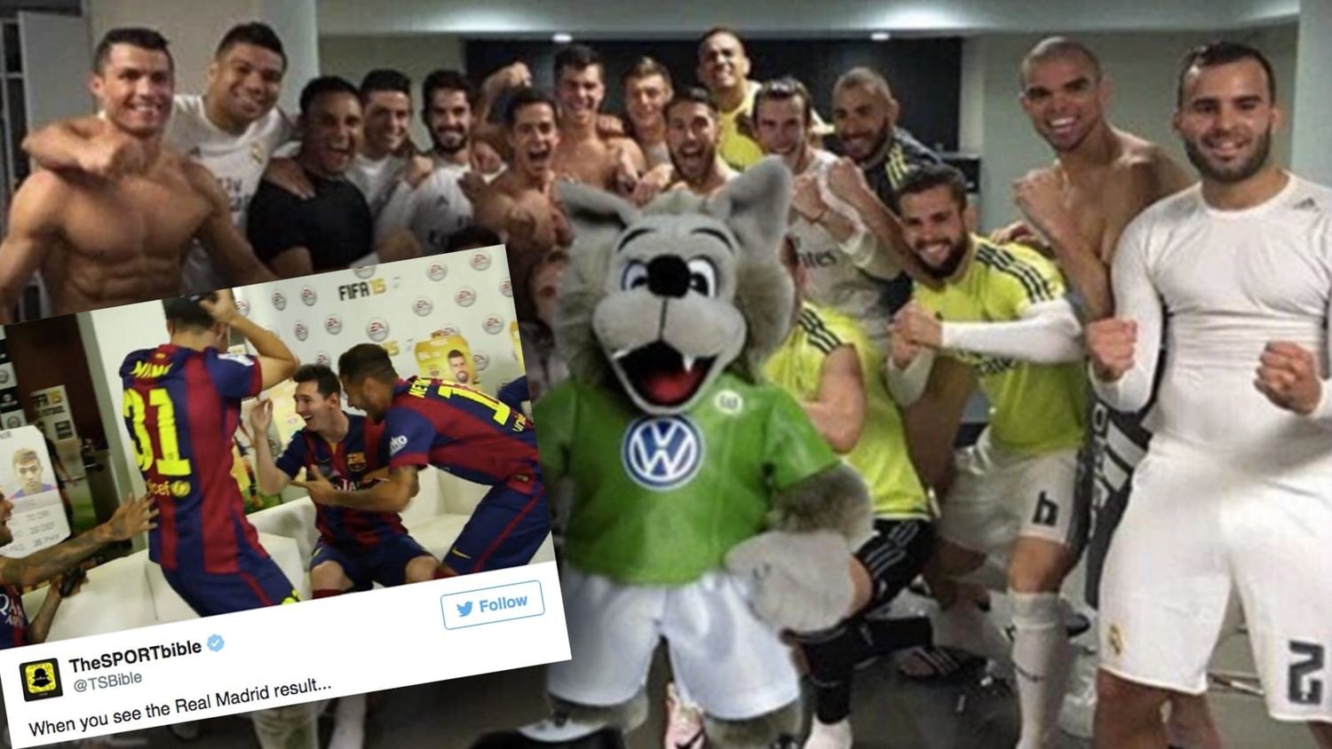 How the internet reacted to Wolfsburg beating Real Madrid