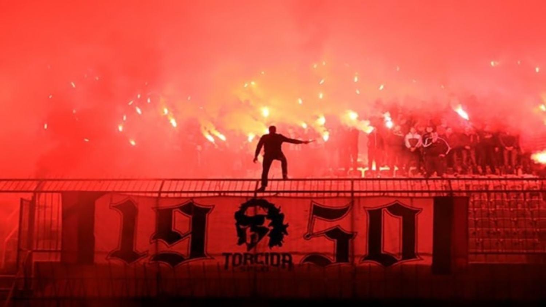 Torcida Split farewell to their legend