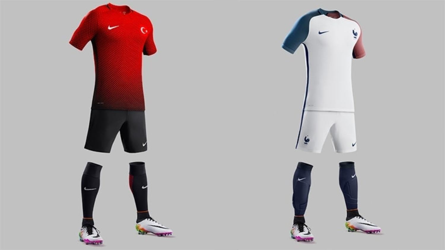 The Best International kits for Euro 2016