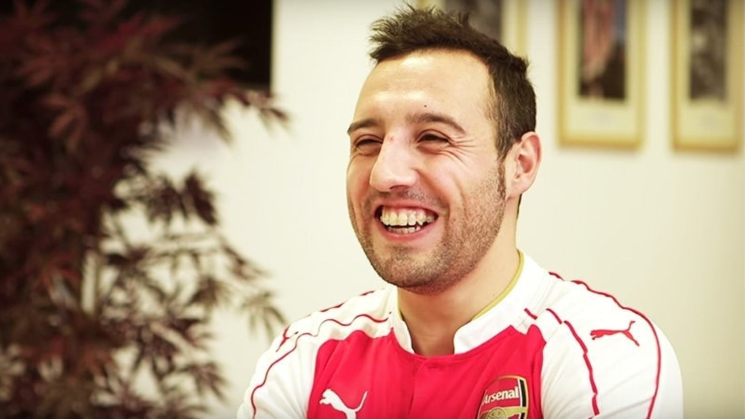 Hilarious Santi Cazorla Interview: