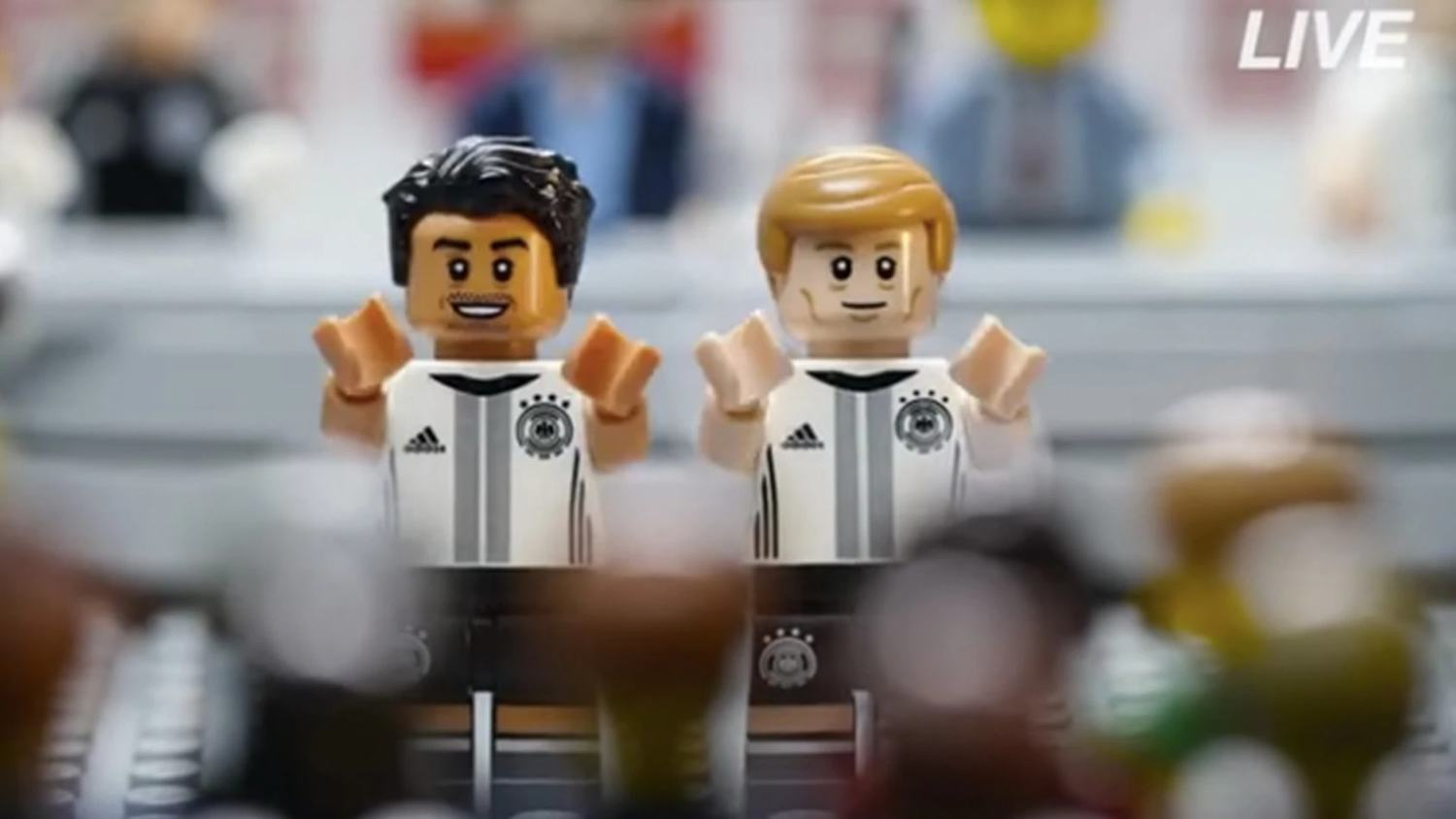 Lego Launch German National Team Figure Collection including Ozil, Kroos & Muller
