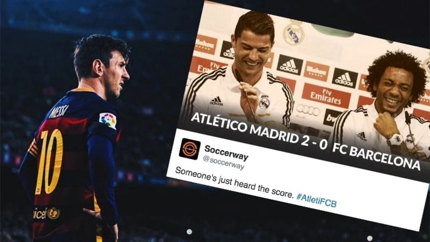 The Best Reactions to Barcelona's Champions League Exit
