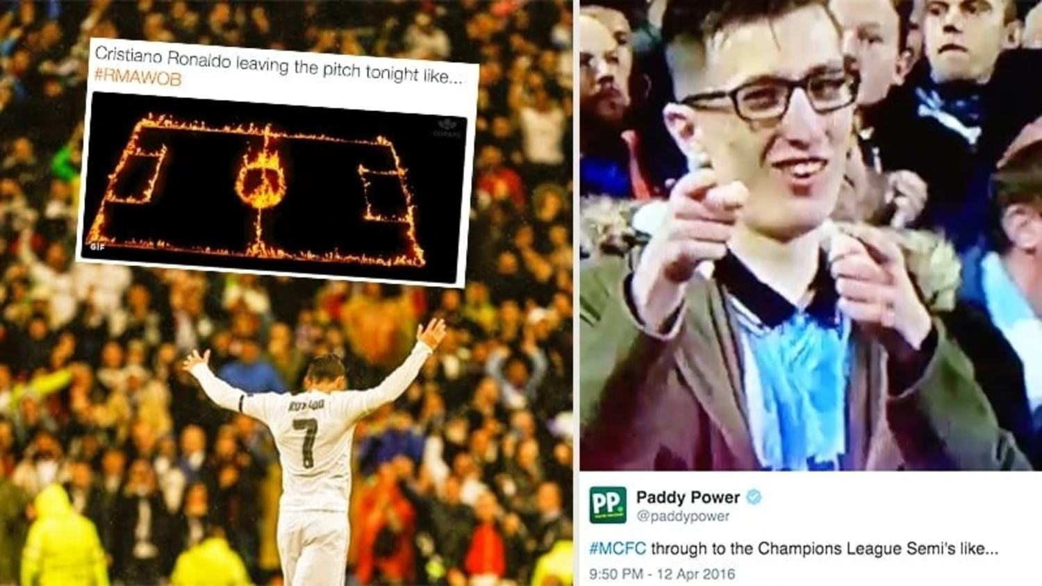How the Internet Reacted to Ronaldo's Hattrick & Man City Beating PSG