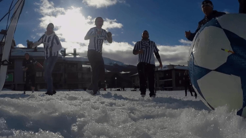 Football at 10,000 Feet | Juventus vs Bayern - #UCLAwayDays