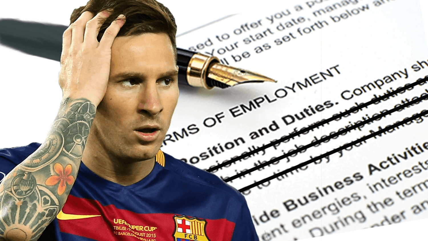 Messi's Secret Contract Clause