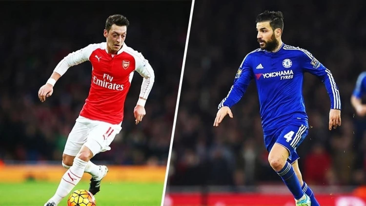 Ozil & Fabregas first players to pass 1000 passes in the Premier League
