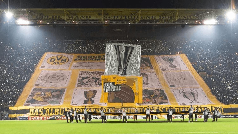 Dortmund's 'Complete The Album' & The Best Europa League Tifos!