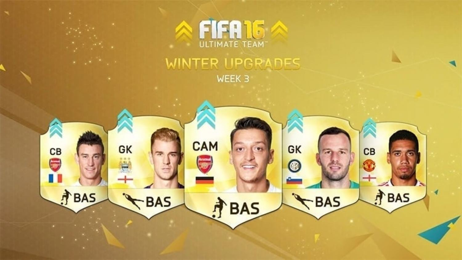 Complete List of FIFA 16 Ultimate Team Winter Upgrades: LIVE UPDATES