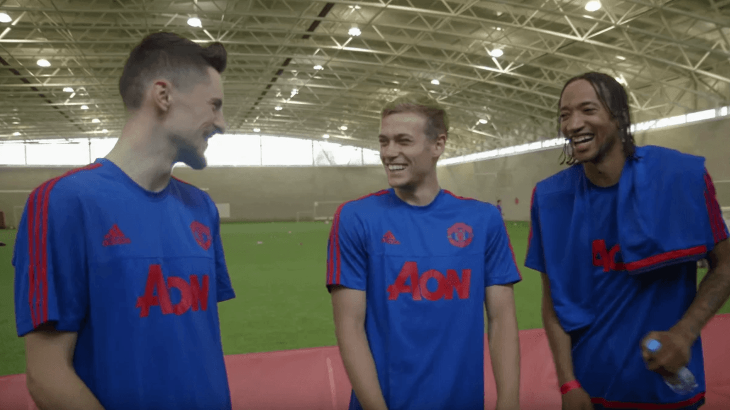 Exclusive Man United Kit Launch w/ Phil Jones, Daley Blind & more!