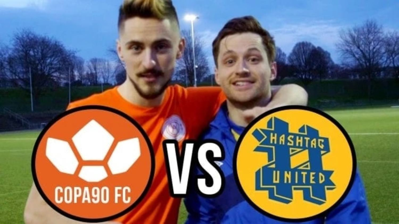 COPA90 FC vs Spencer FC's Hashtag United!