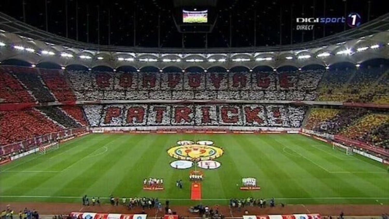 Dinamo Bucharest's Emotional tribute to Patrick Ekeng