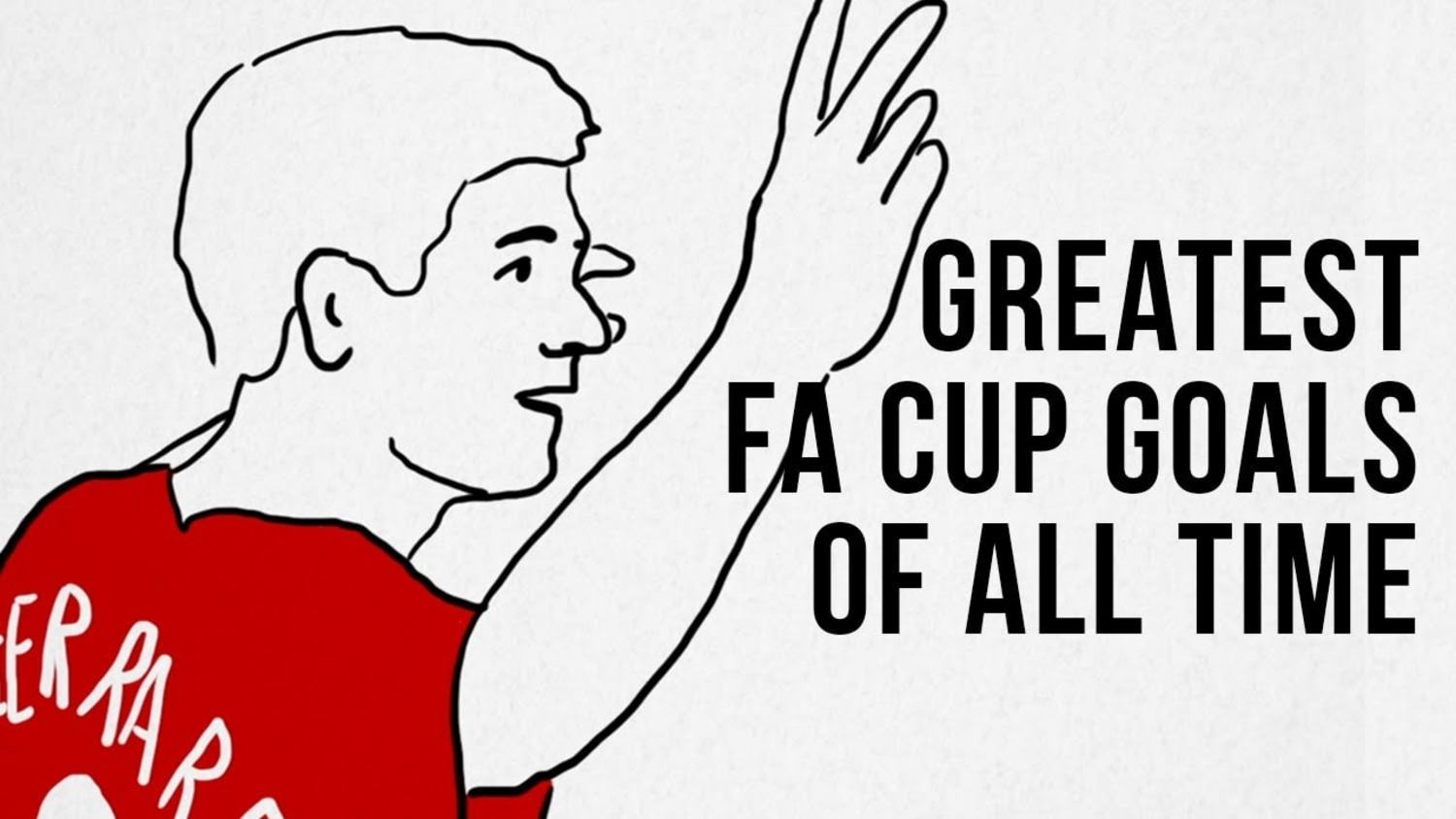 The Greatest FA Cup Heroes ft. Gazza, Ramsey & more