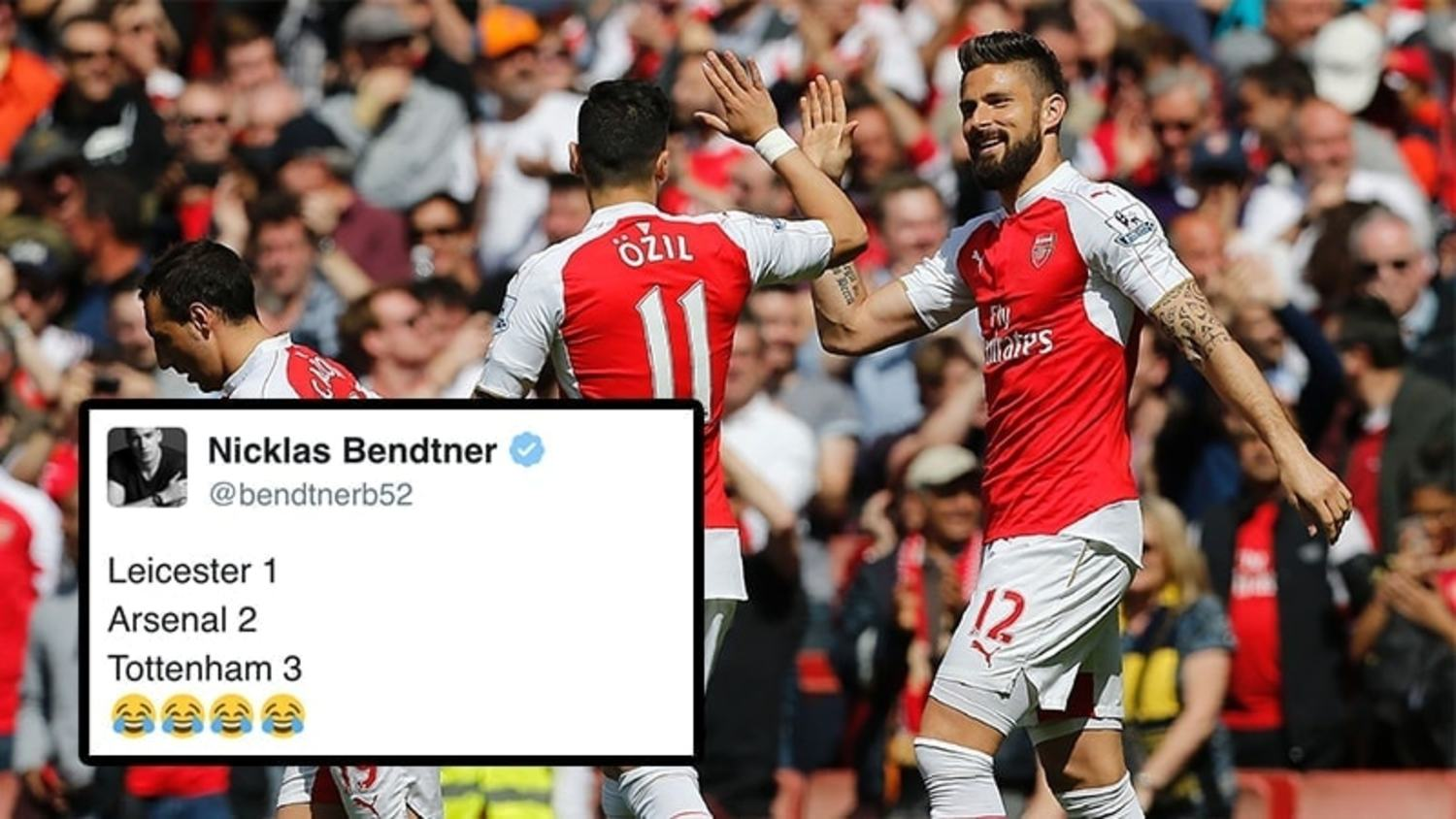How the Internet Reacted to Arsenal Finishing Above Spurs Again