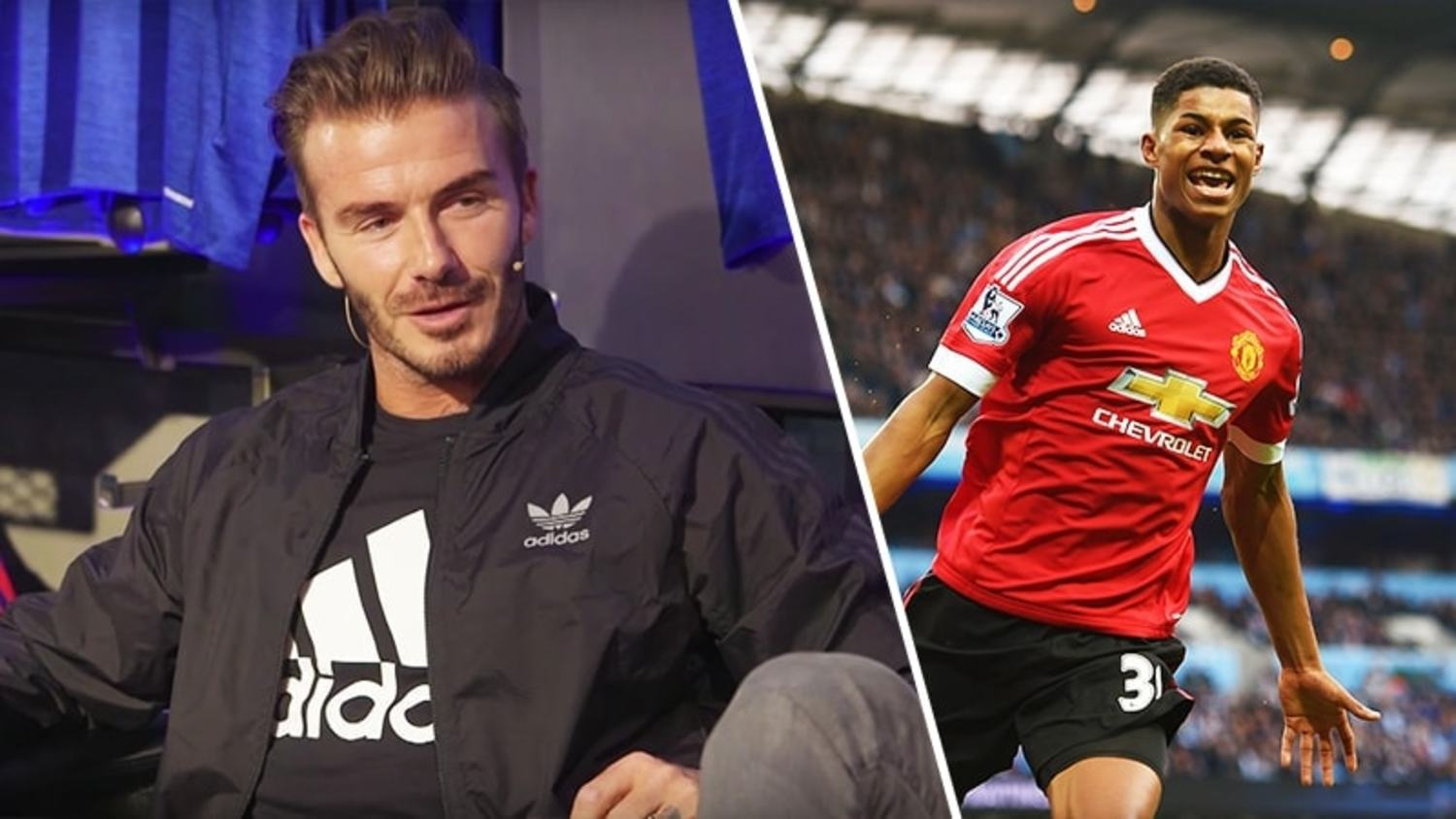 David Beckham Discusses Man United Future & Rashford Potential