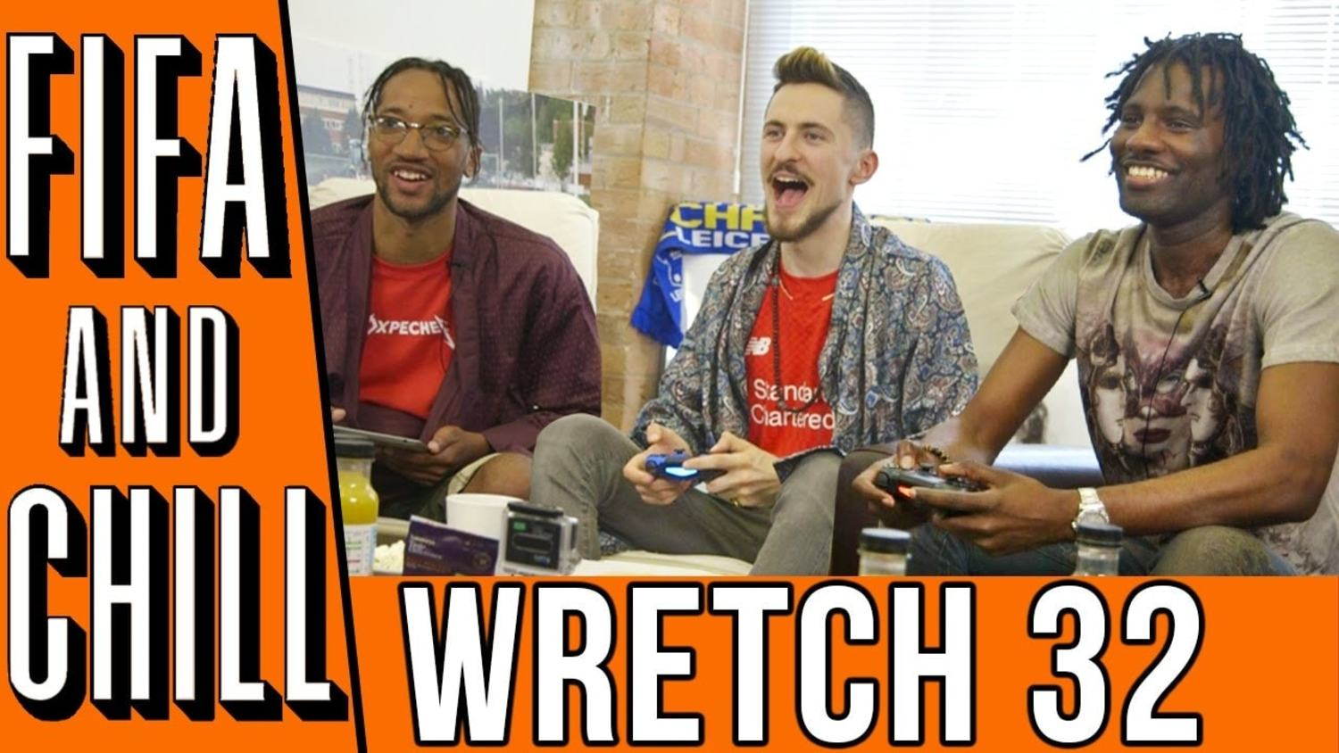 FIFA and Chill with Wretch 32 and Avelino: On Ian Wright, Euros and more!