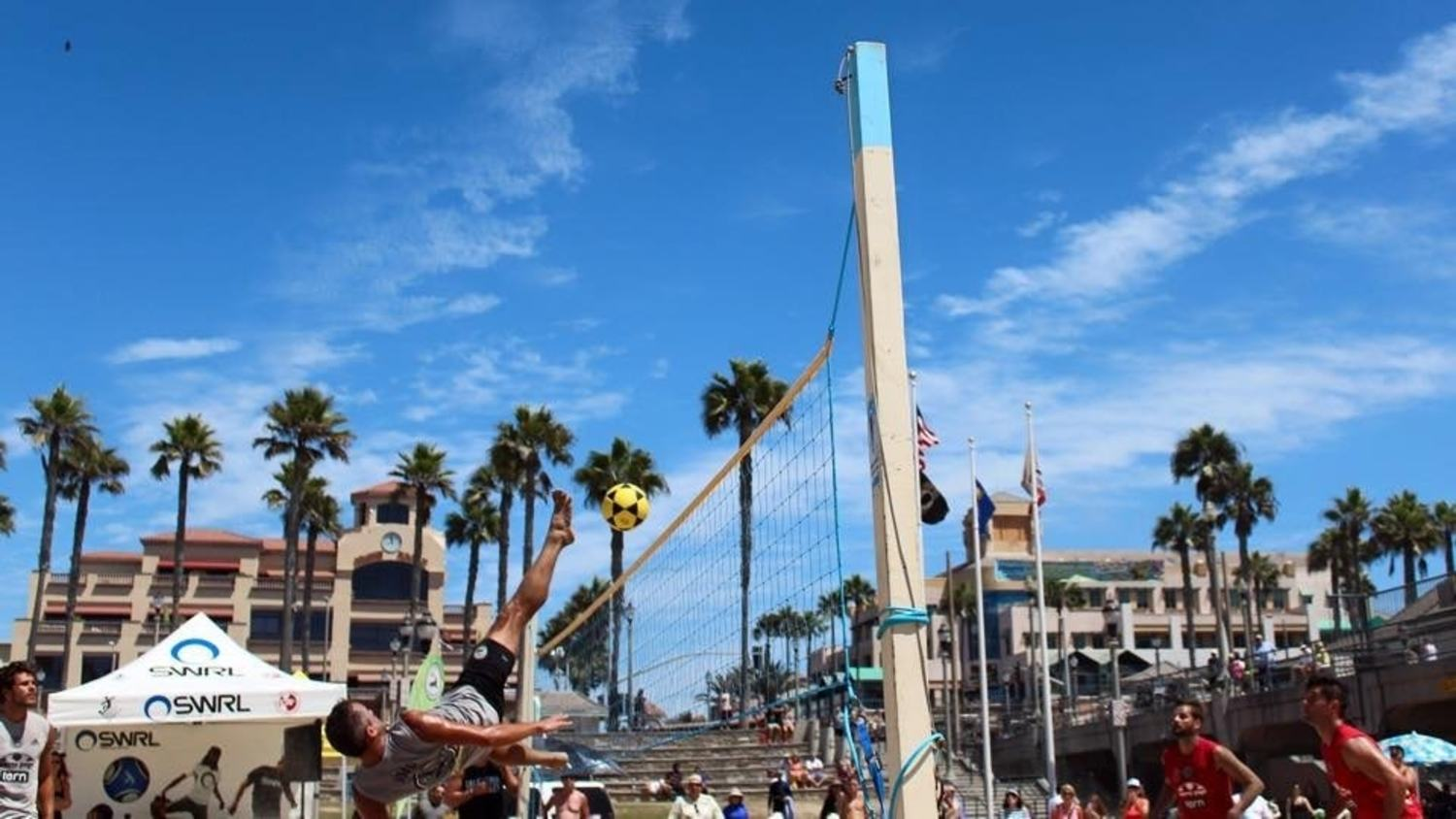 Sun, Sea and Soccer: Californian Footvolley Championships