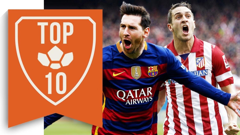 The Top 10 La Liga Players of the Season