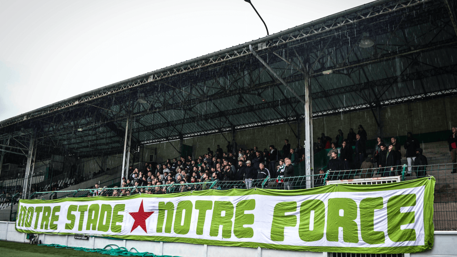 Red Star's fans mobilize for Stade Bauer's renovation