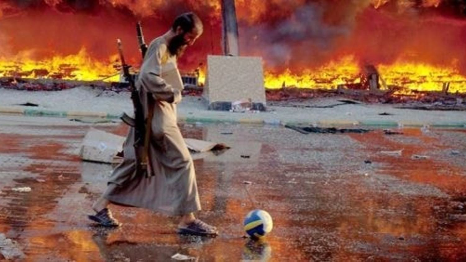 Football in the Times of Isis