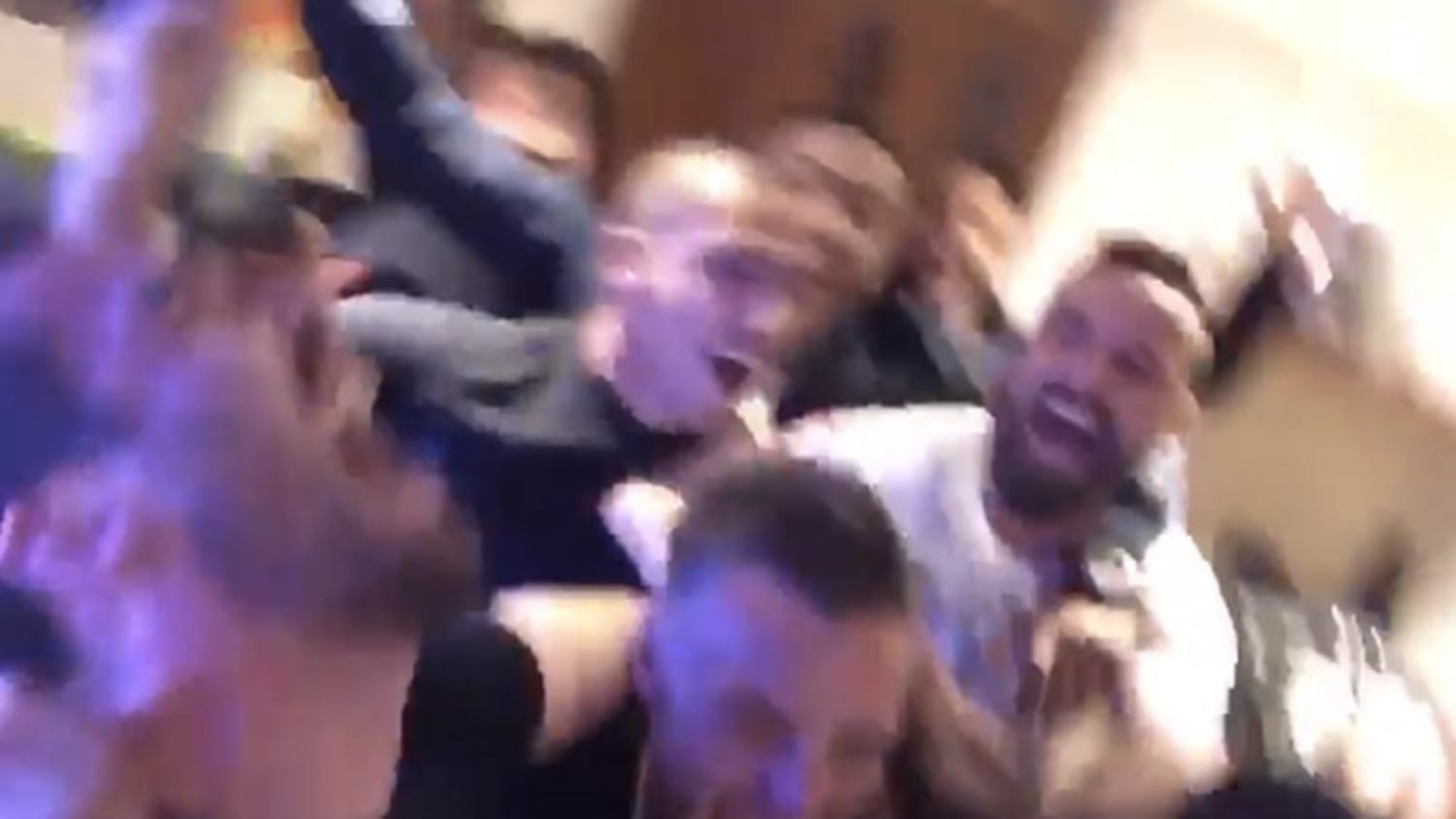 How the Leicester players celebrated winning the Premier League at Jamie Vardy's Party!