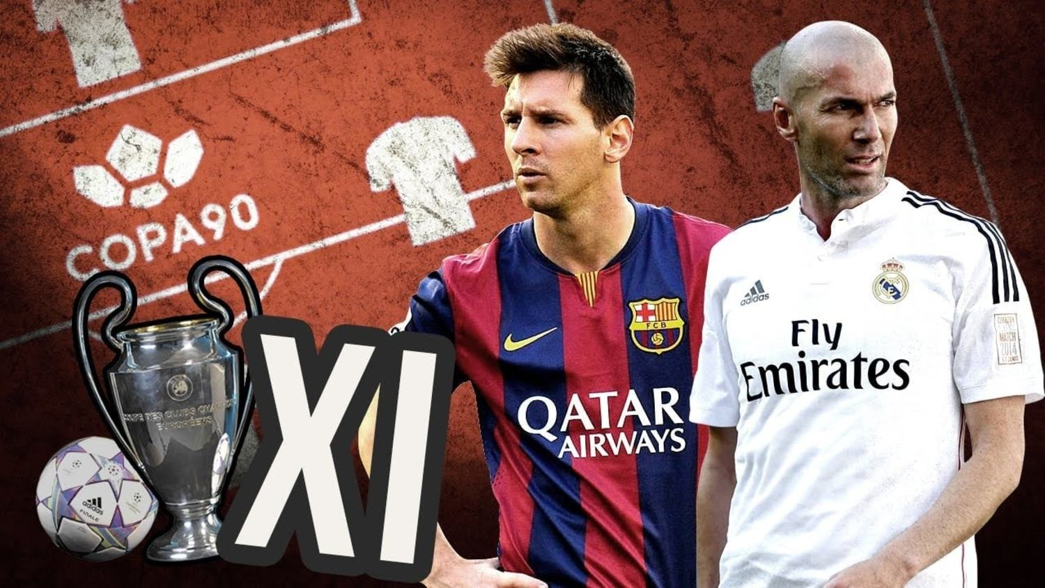 The All-Time Champions League XI ft. Messi, Ronaldo, Lahm & more!