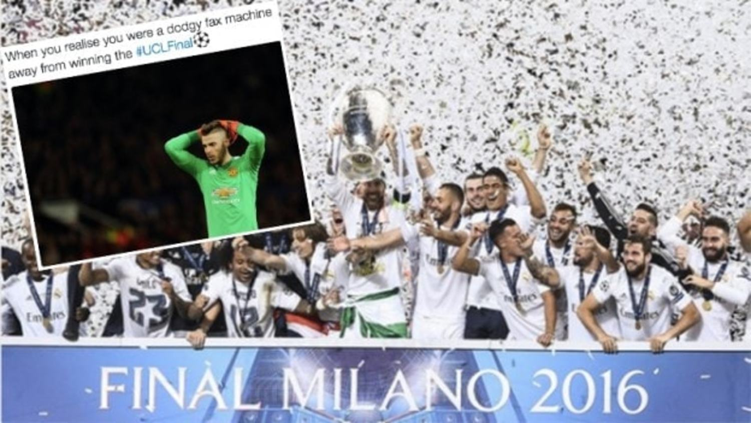 How the internet reacted to Real Madrid's Champions League Victory