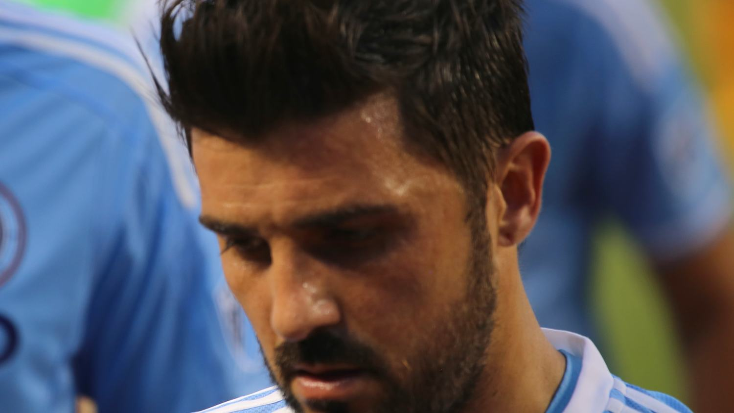A Photo Shoot with NYCFC's David Villa