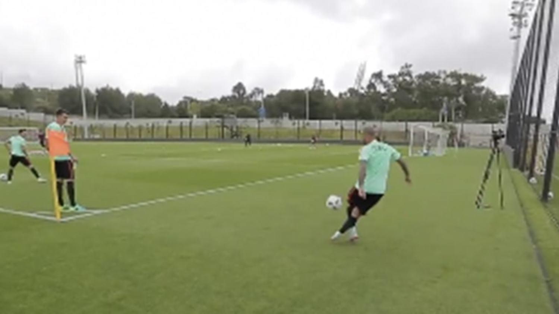 Quaresma shows off insane skills during Portugal Euro 2016 Training Camp