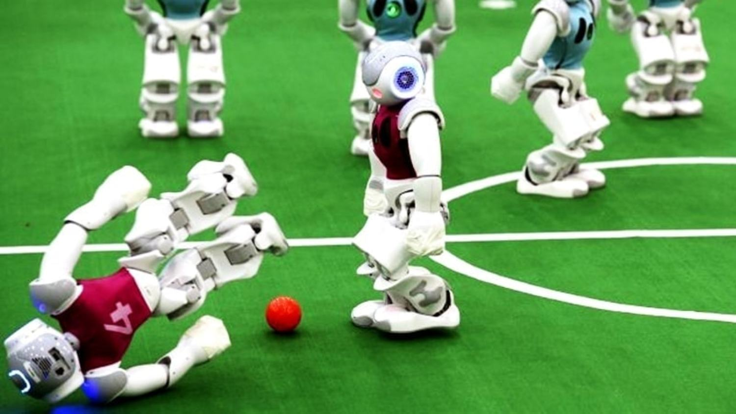 WATCH: 6 hilariously terrible robot football moments that will make you forget about the Euros