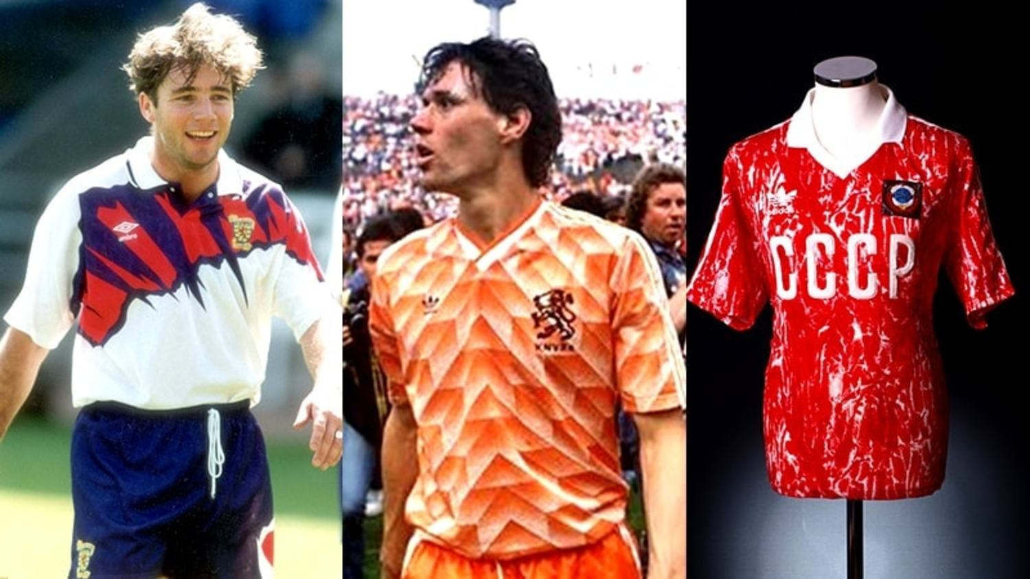 8 of the all-time greatest retro Euro kits