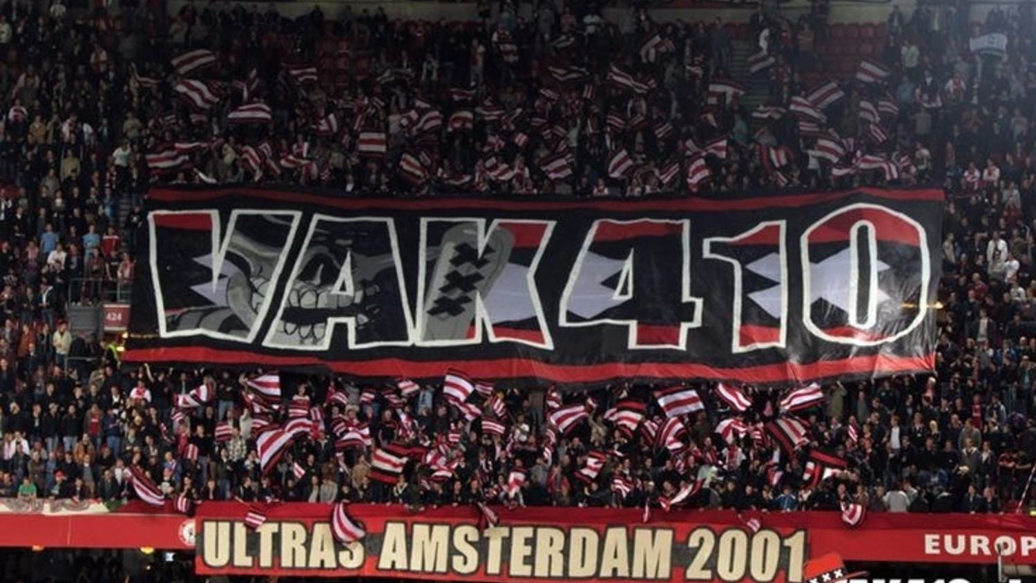 After 15 years the Ajax Ultras of VAK410 Decide to Stop their Activity!