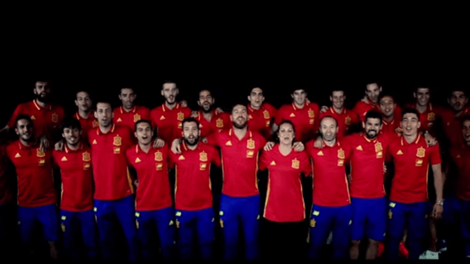 Sergio Ramos leads Spain's Euro 2016 song and it's hilariously fantastic