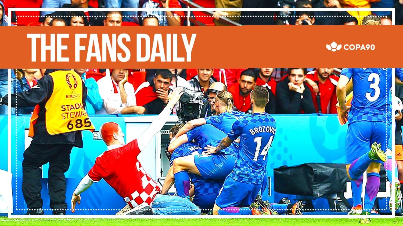 Modric Sends Croatian Fans Crazy - The Fans Daily
