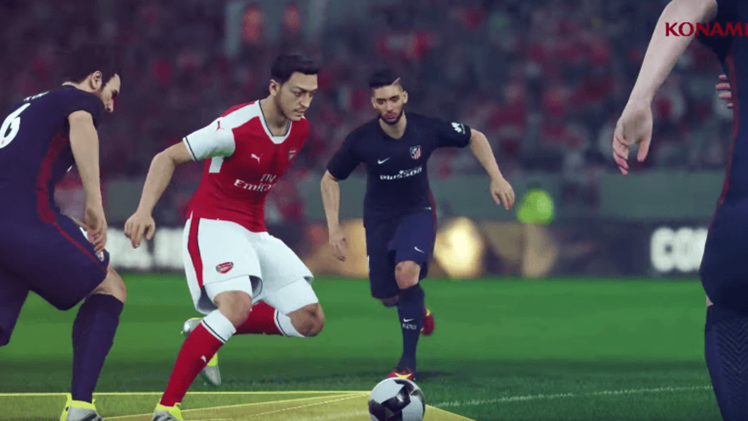 PES 2017 'Control Reality' Teaser Trailer Revealed at E3