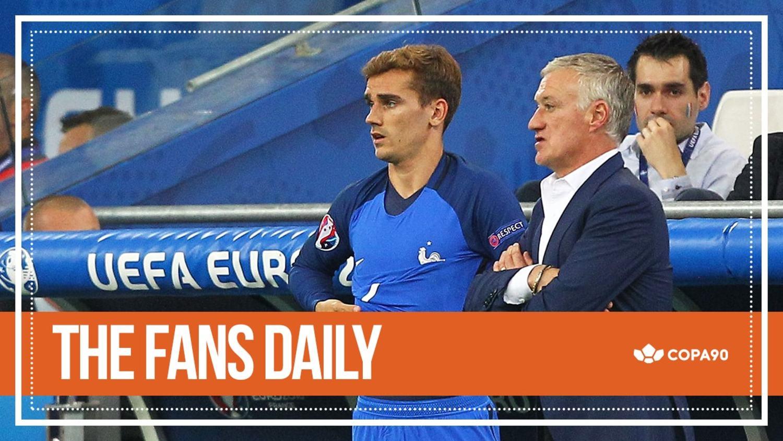Griezmann Proves Deschamps Wrong - The Fans Daily