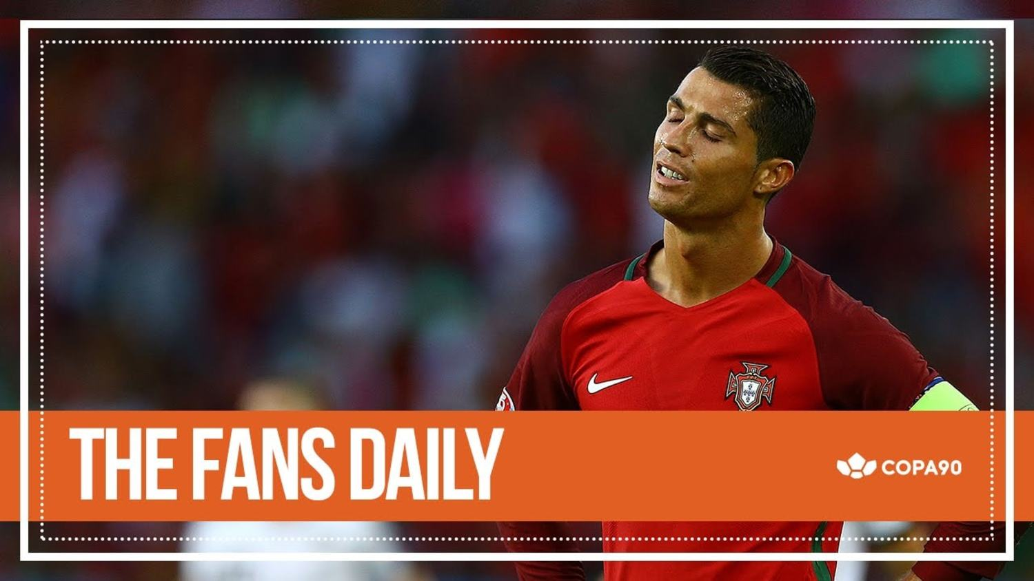 Has Ronaldo Blown It For Portugal? - The Fans Daily