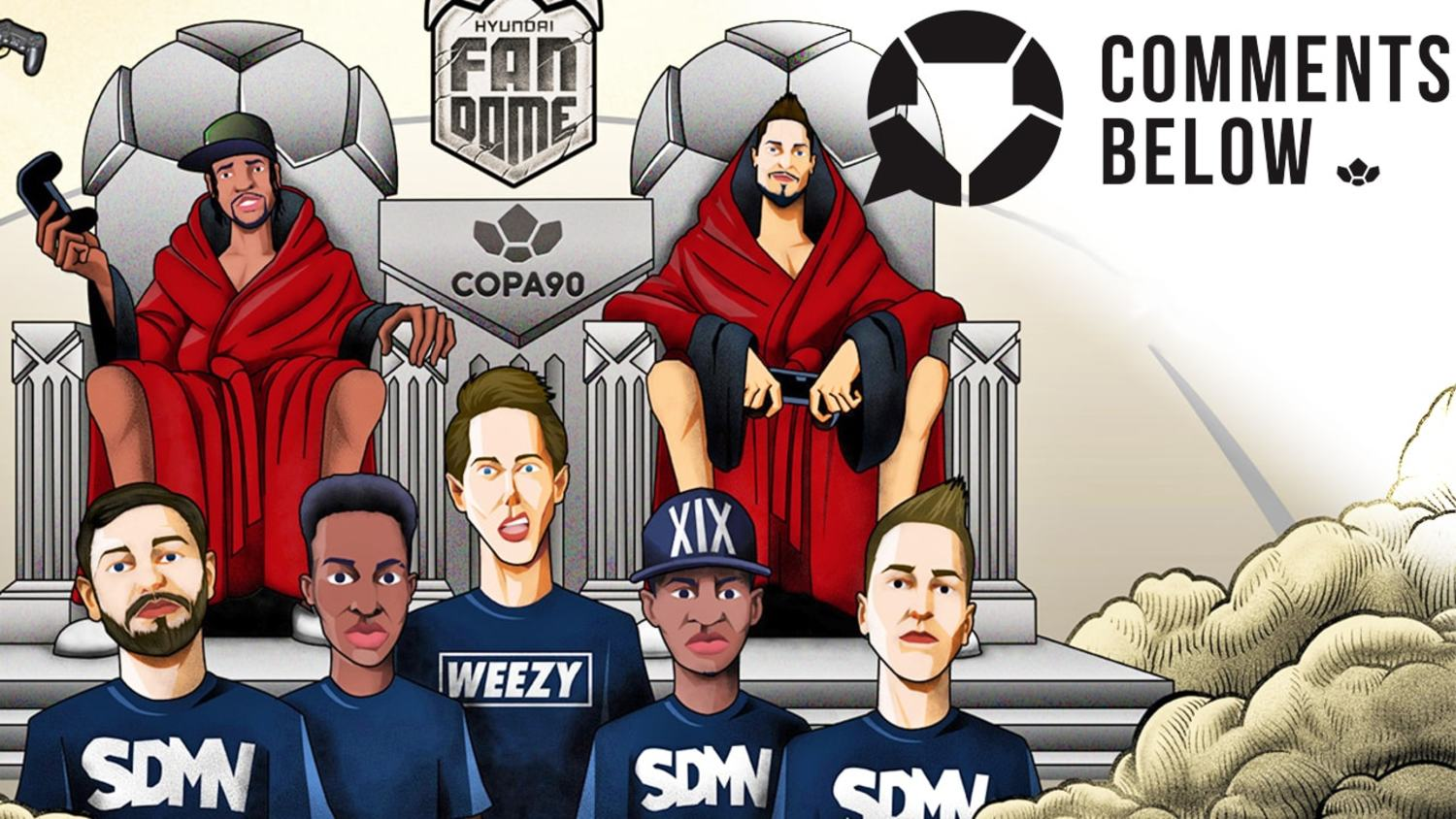 Copa90 x Hyundai #PlayTheDome with the Sidemen!