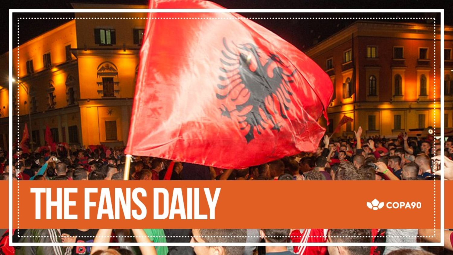 Albania's First Win Sparks Epic Scenes | The Fans Daily