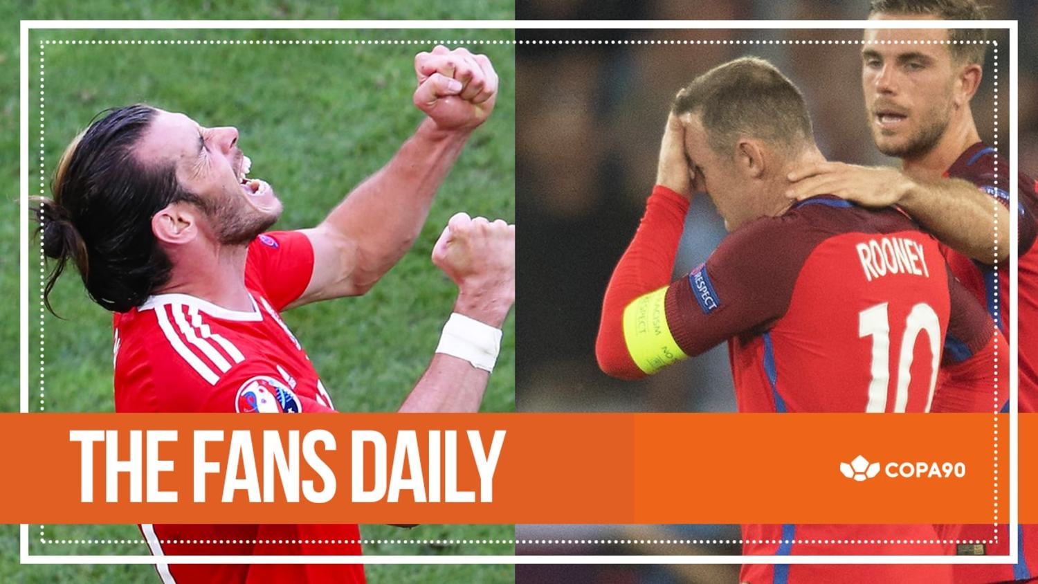 Bale's On Fire, England Team Just Qualified | The Fans Daily