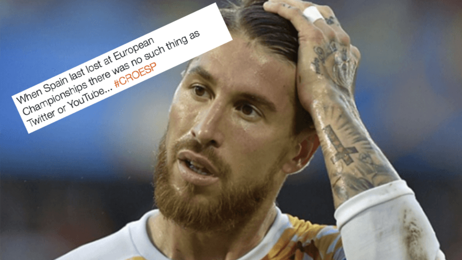 How the internet reacted to Spain finally losing a European Championship game