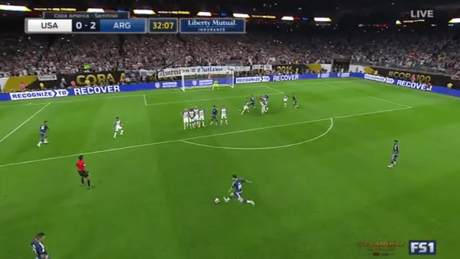 Messi vs USA And The Best Freekicks Of 2016