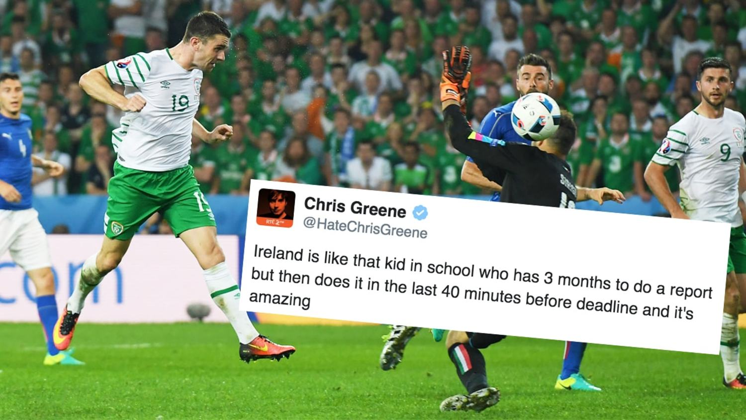 The Best Reactions to Ireland Reaching Euro 2016 Knockouts