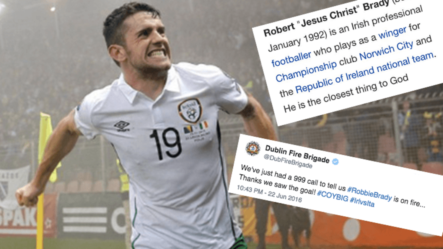 Robbie Brady is 'The Closest Thing To God' | The Greatest Reactions to Ireland's Winner