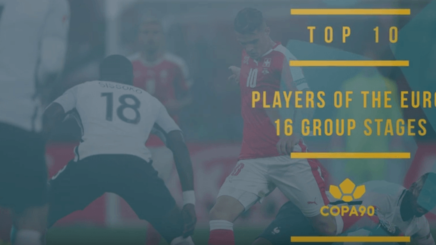 Top 10 Players of Euro 2016 Group Stages