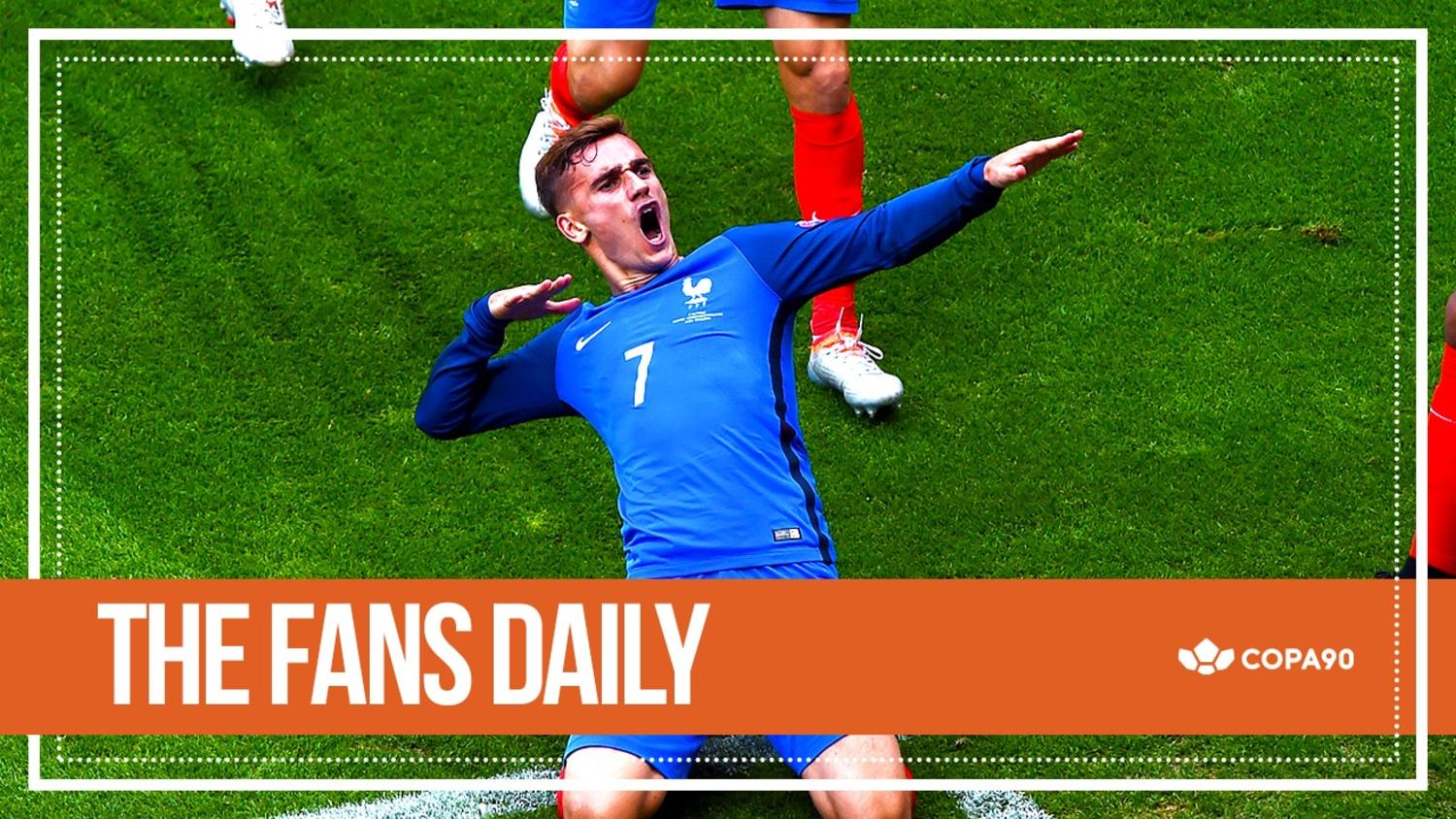 Griezmann Double Sinks The Irish | The Fans Daily