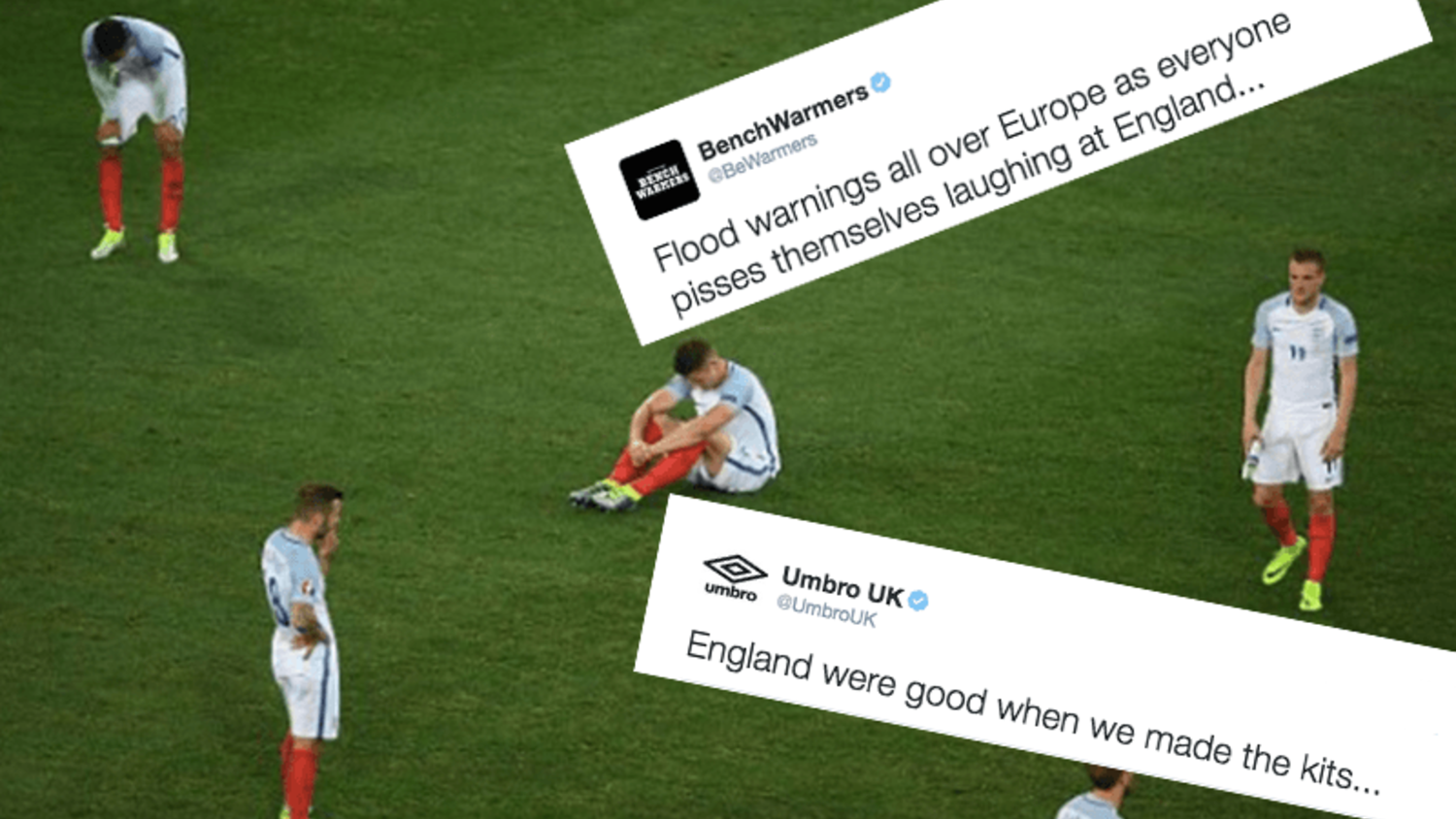How the internet reacted to England losing to Iceland and exiting Euro 2016