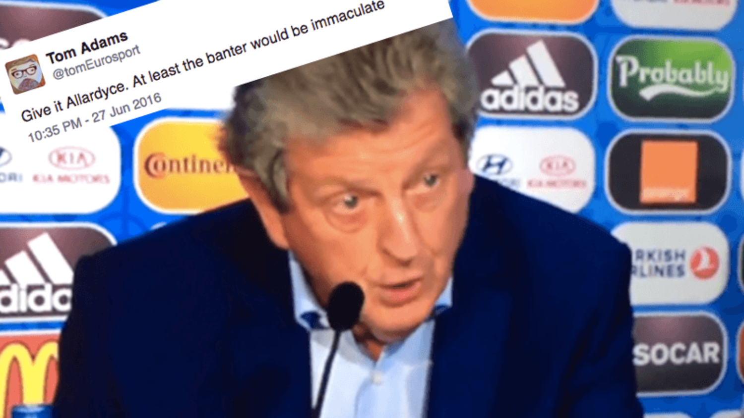 How the internet reacted to Hodgson resignation and contenders for England job