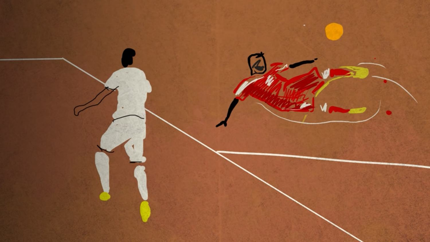 Every Goal Of The Euros Round Of 16 Animated