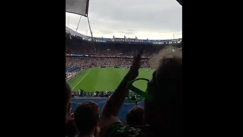 Tatiyana takes over Copa90's SnapChat - Germany v N.Ireland 2016