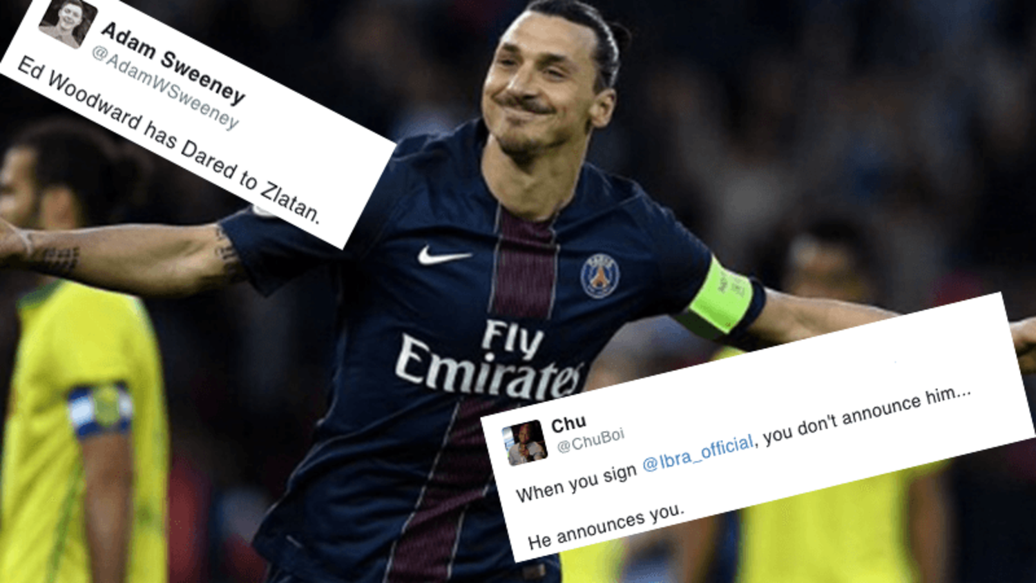 Best reactions to Zlatan Ibrahimovic announcing his move to Manchester United